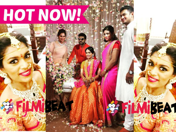 MEGA WEDDING: Chiranjeevi's Daughter Srija Is Now Married To Kalyan