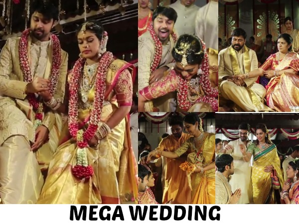 VIDEO: Chiranjeevi's Daughter Srija And Kalyan's Marriage Video