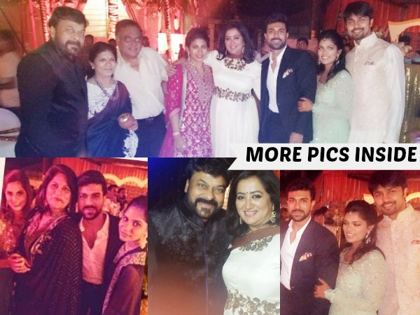 PHOTOS: Chiranjeevi's Daughter Srija Sangeet Function