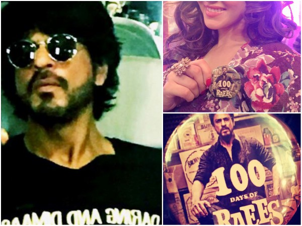 Check Out Shahrukh Khan, Sunny Leone's Selfies On The Sets Of Raees!