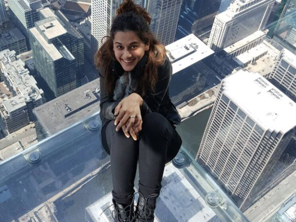 Taapsee In USA