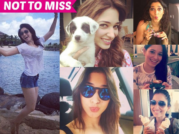 IN PHOTOS: A Look Into Tamannaah's Instagram Feed Tells You The Untold Stories