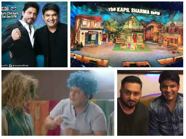 Fresh Pictures: Here Comes Kapil Sharma, With A Bigger & Grander Show - The Kapil Sharma Show