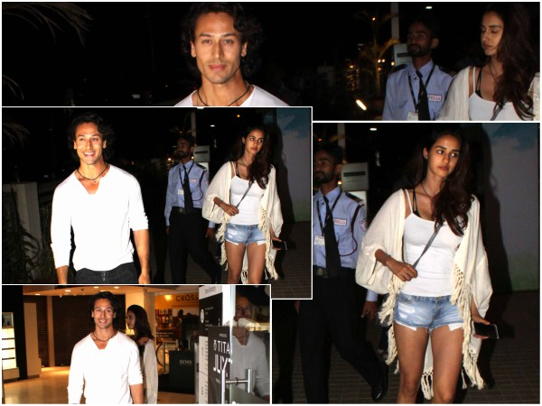 Tiger Shroff Spotted On A Late Night Date With Disha Patani!