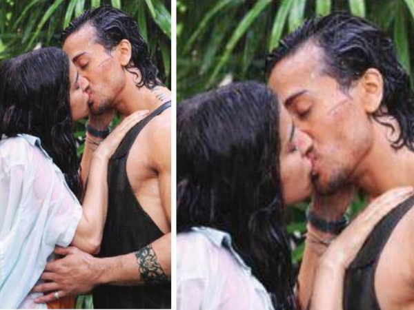 Tiger Shroff And Shraddha Kapoor's Kissing Scene From Baaghi!