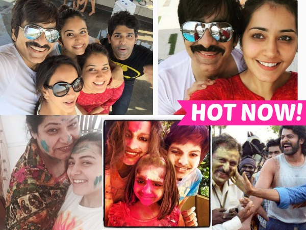 PHOTOS: Here Is How Your Favorite Tollywood Celebrities Celebrated Holi