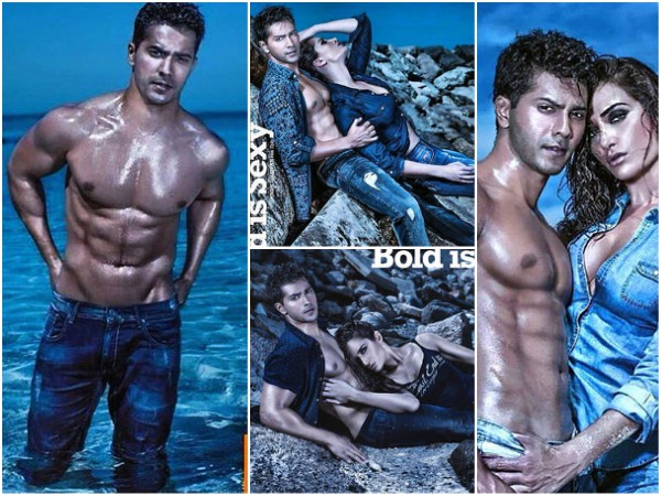 Varun Dhawan's Hottest Photoshoot Till Date, Goes Shirtless & Shows Off Chiseled Abs