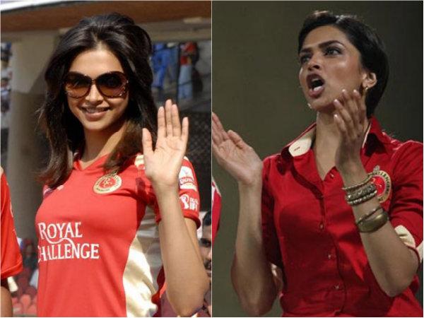 10 Pictures Of Deepika Padukone Rocking In An RCB Jersey!