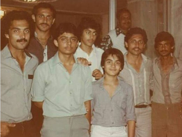 Salman Khan Arbaaz Khan Pakistani Hockey Team Rare