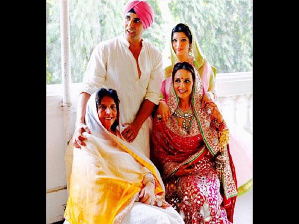 Akshay Kumar sister Alka Bhatia ready tie knot Surendra ...
