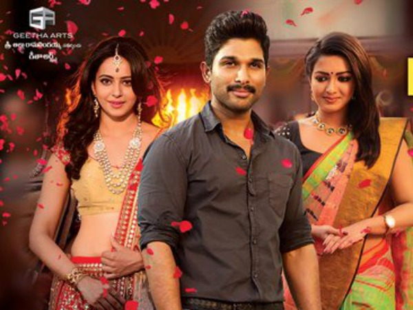 Sarrainodu Collects 22 Cr Gross On First Day