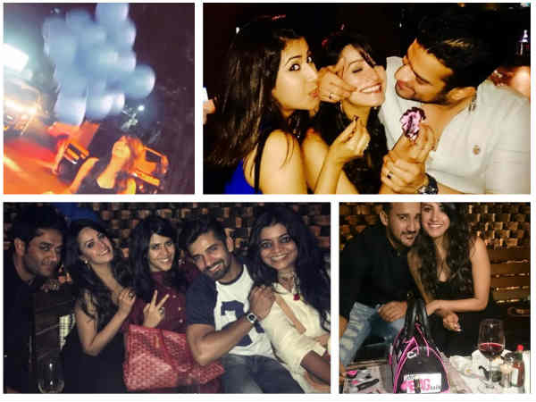 Anita Hassanandani Celebrates Birthday With Hubby & Friends; Look Who All Wished B'Day Girl!