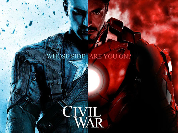 Captain America: Civil War | Super heroes at odds