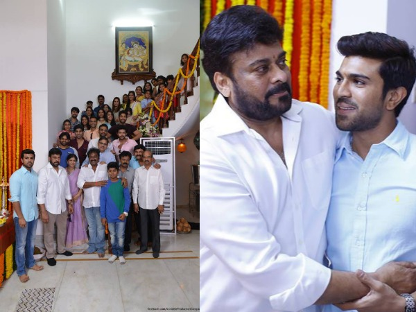 PHOTOS: Chiranjeevi's 150th Movie Launched, Mega Family Spotted Sporting Smilies