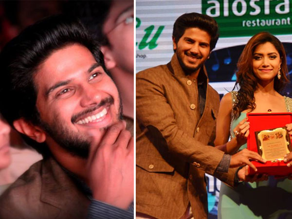 dulquer salmaan at star night 2016