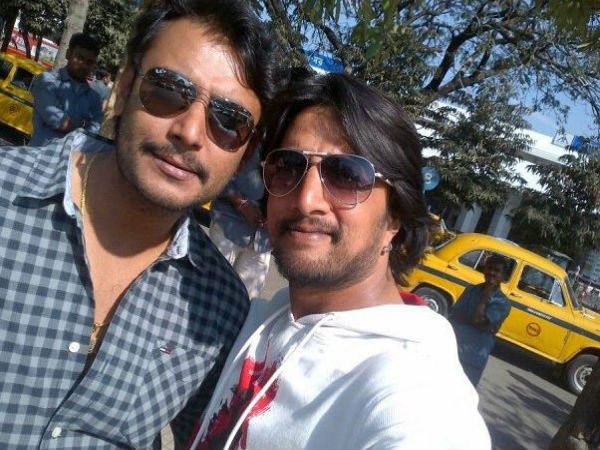 Rift No More? Sudeep And Darshan Back Together?
