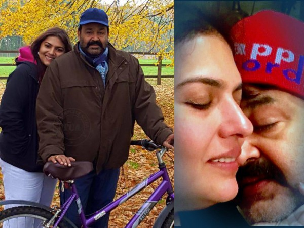 Mohanlal suchitra th wedding anniversary special filmibeat