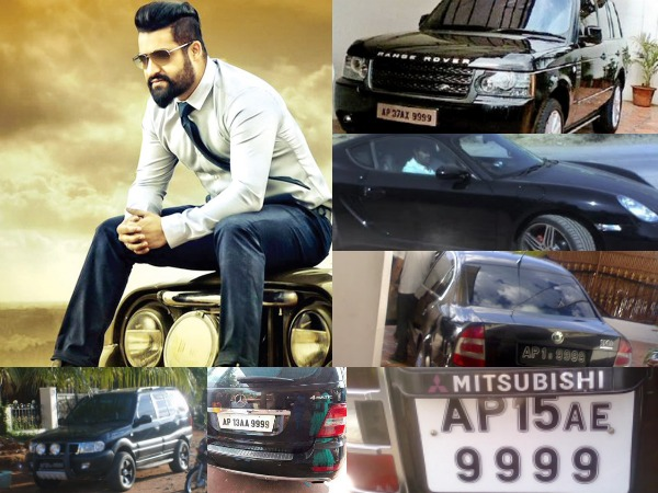 6 Times Jr NTR Spent A Bomb For His Car Registration & Here's The Story Behind It!