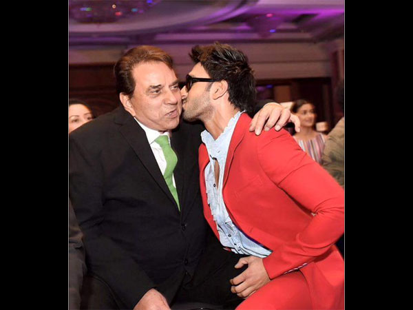Ranveer Singh Unseen Pics With Shahrukh Dharmendra