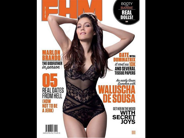 Hot Bikini Photoshoot! Waluscha De Sousa On The FHM Cover