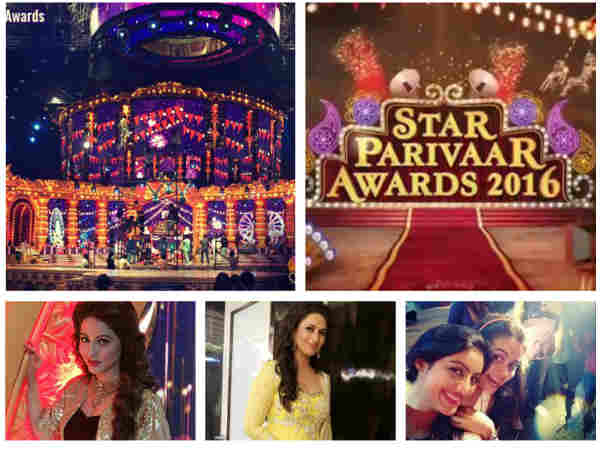 Hina, Divyanka, Anita At Star Parivaar Awards 2016; Devoleena, Deepika & Others To Perform-PICS