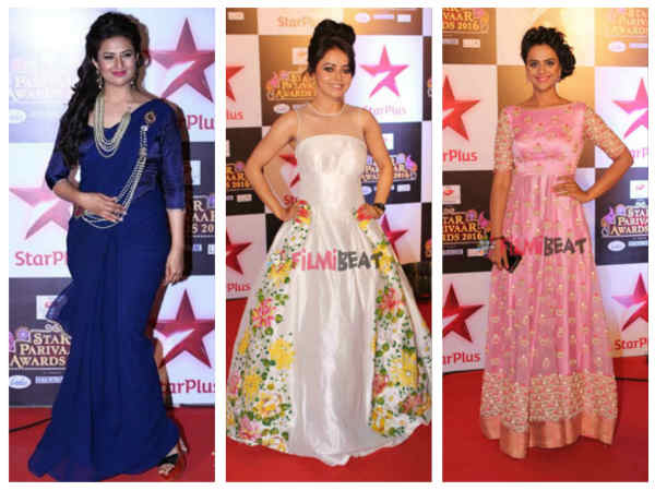 Star Parivaar Awards 2016:Divyanka, Devoleena, Prachi, Ankita & Others Sizzle On The Red Carpet-PICS