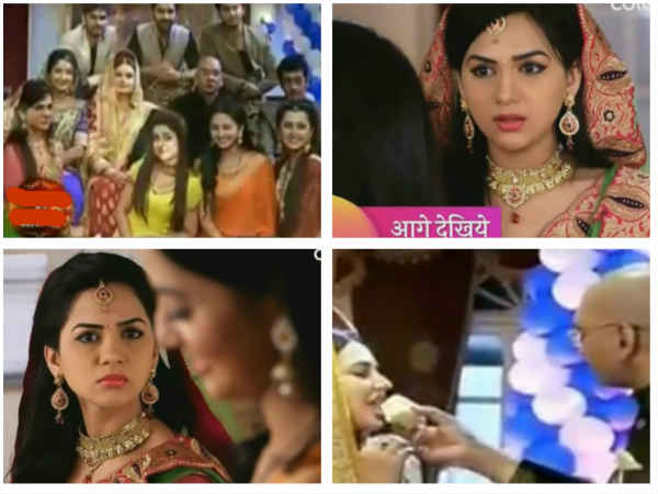 Swaragini: Swara Organises Surprise Birthday Party For Durga Prasad; Parineeta Upset!