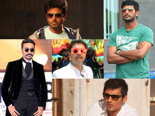 Tamil Celebs On Theri