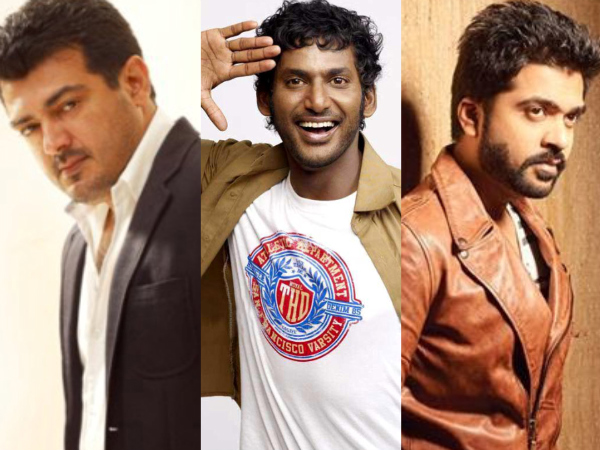 Vishal On Ajith & Simbu