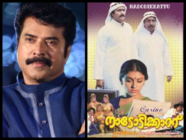 Mammootty Connection In Nadodikkattu