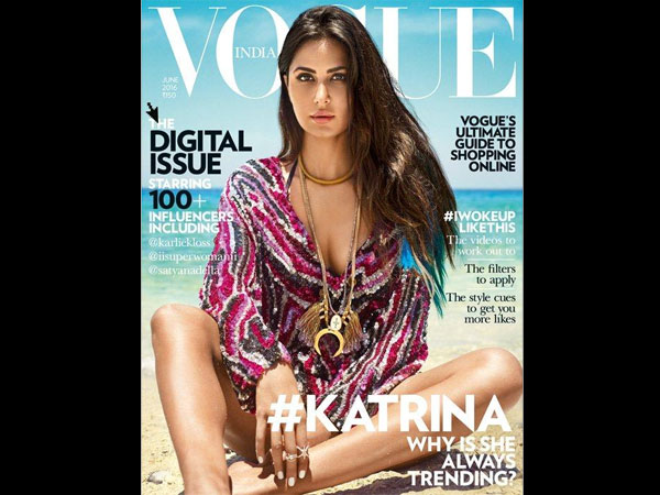 Katrina Kaif Vogue Cover