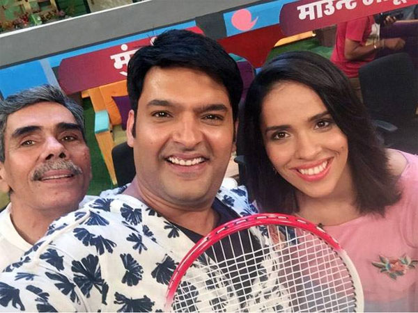 The Kapil Sharma Show : Here's Why Saina Nehwal Called Kapil Sharma Her 'Lucky Charm'