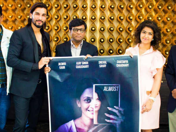 Sasural Simar Ka Actors Avika Gor & Manish Raisinghani Launch Poster At Cannes Film Festival