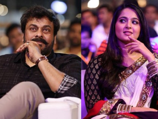 ALMOST THERE! Anushka Shetty Likely To Pair Up With Chiru