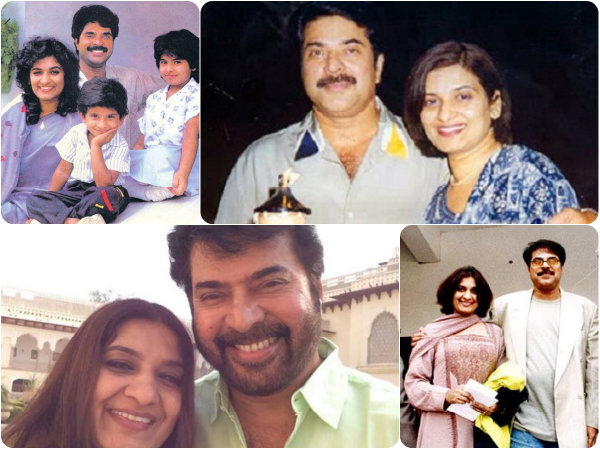 PHOTOS: Mammootty-Sulfath 37th Wedding Anniversary Special