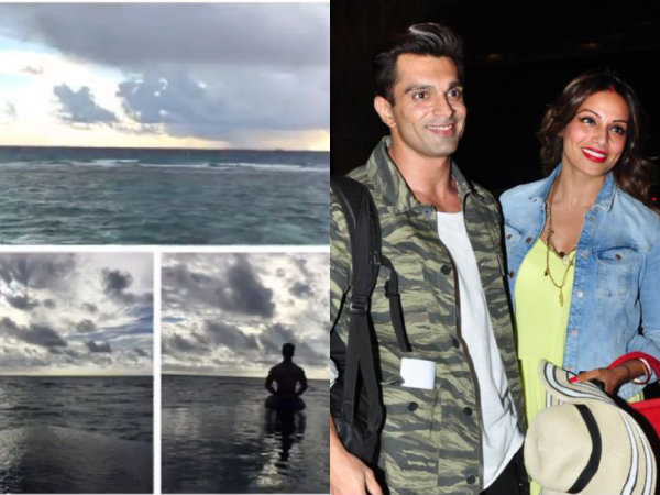 Bipasha Basu Honeymoon Maldives Karan SIngh Grover