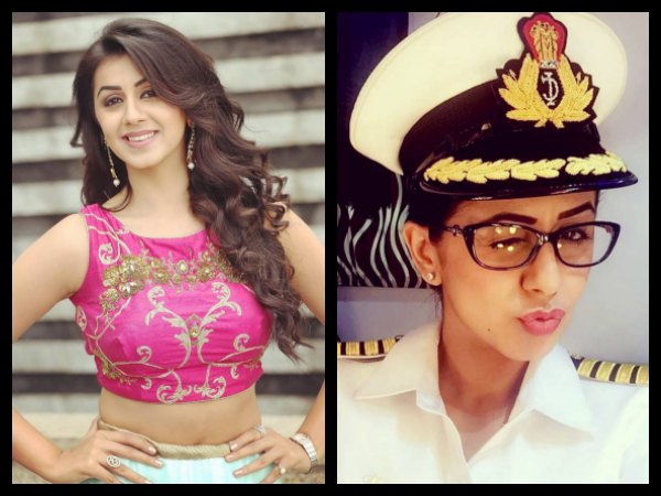 Nikki Galrani As A Customs Officer In Shajahanum Pareekuttiyum!