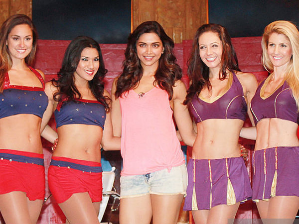 Deepika Padukone Cheerleaders