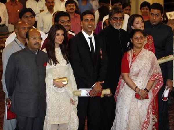 Amar Singh With The Bachchans