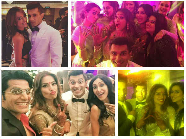 Karan Singh Grover-Bipasha Basu Grand Reception: Drashti Dhami, Surbhi Jyoti & Others Attend (PICS)