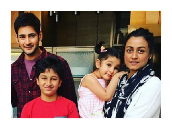 Mahesh Babu Having A Family Time In UK!