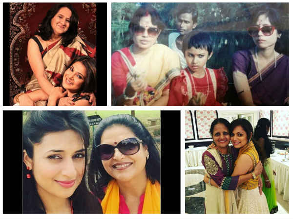These Pics Of TV Celebs-Mouni, Drashti, Divyanka, Hina…Snapped With Their Moms Will Make You Go Aww!