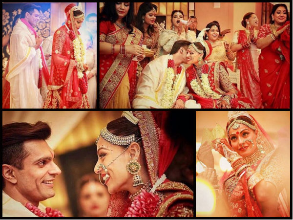 30 NEW Pictures Of Bipasha Basu & KSG From Their Wedding Ceremony!