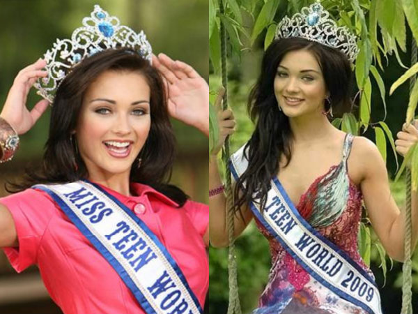 Amy Jackson Miss Teen World England 2009