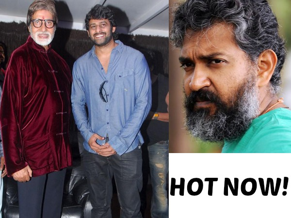 Treat To Watch My Favorites Rajamouli & Amitabh Together, Says Prabhas