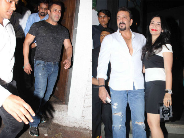 Baaghi Success Bash Salman Khan Sanjay Dutt