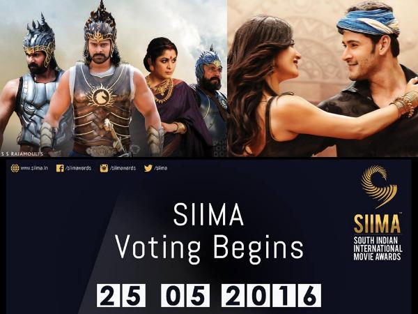 SIIMA 2016 Telugu Movie Nominations Are Out, Baahubali