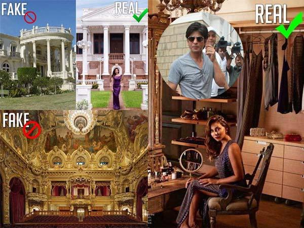 Shahrukh Khan Mannat Real And Fake Pictures, Shahrukh Khan Home ...