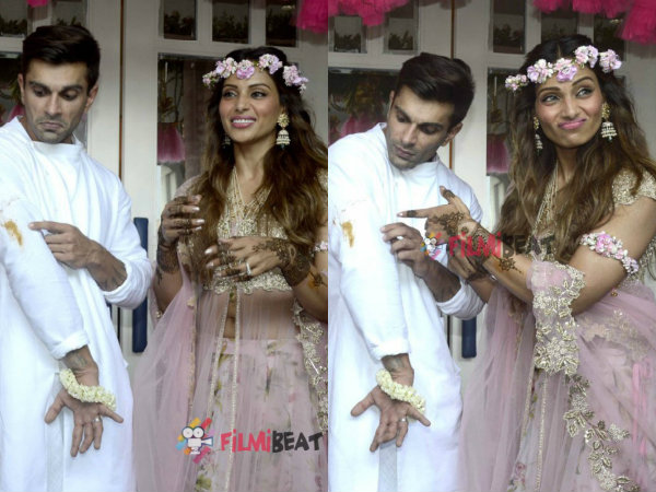 Funny Pictures From Bipasha Basu Karan Singh Grover Wedding