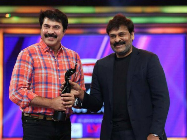 When Megastars Bonded Over An Award At Filmfare South